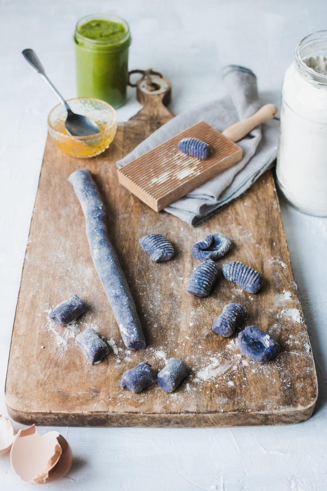 Come fare gli gnocchi di patate viola