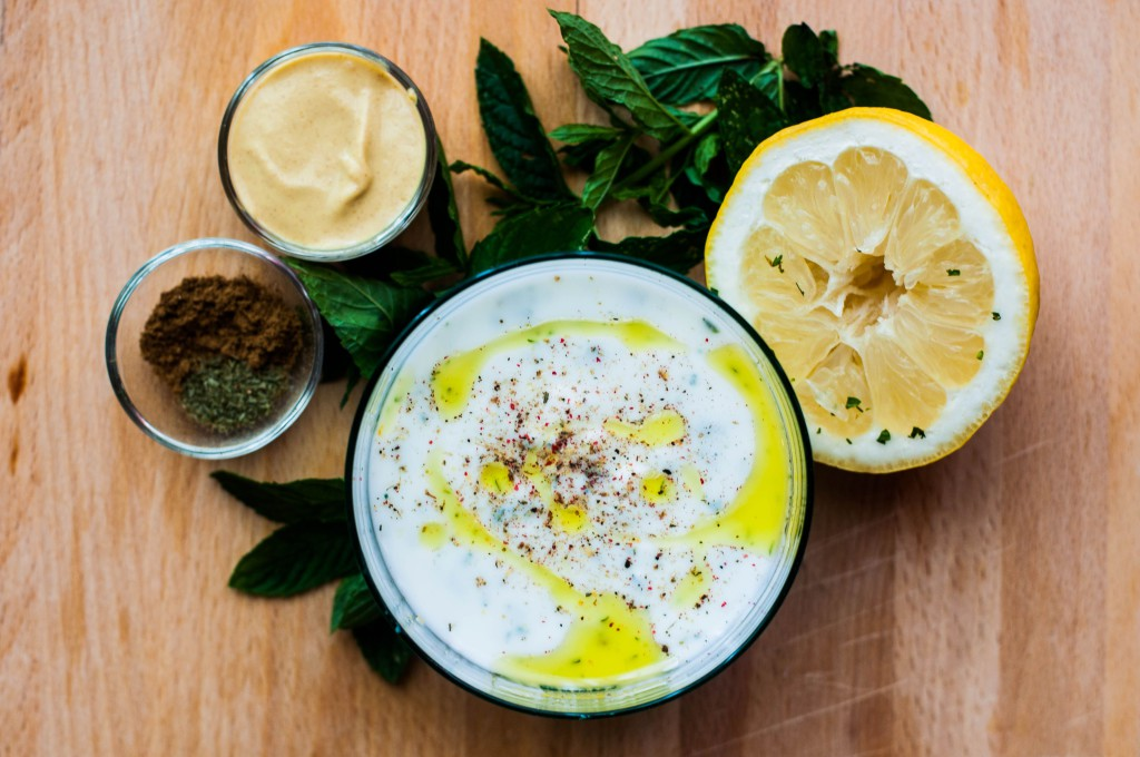 salsina menta e yogurt
