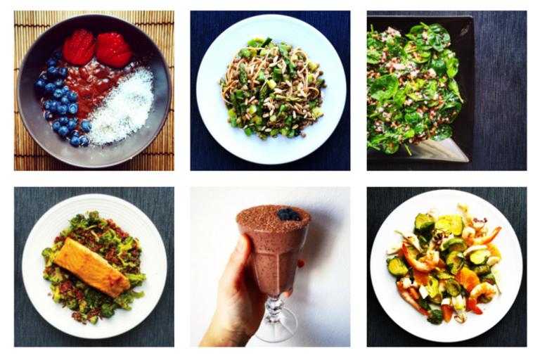 6 Healthy Meals on Instagram #1