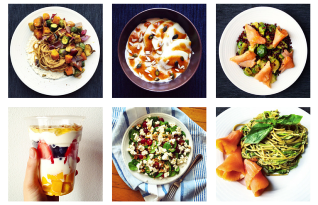6 Healthy Meals on Instagram #3