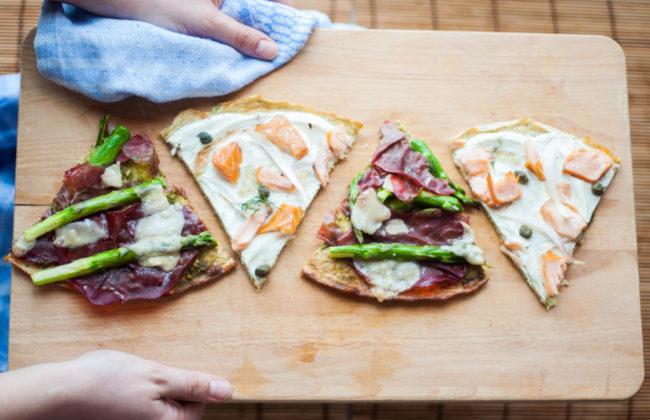 (Finta) pizza low carb di zucchine!