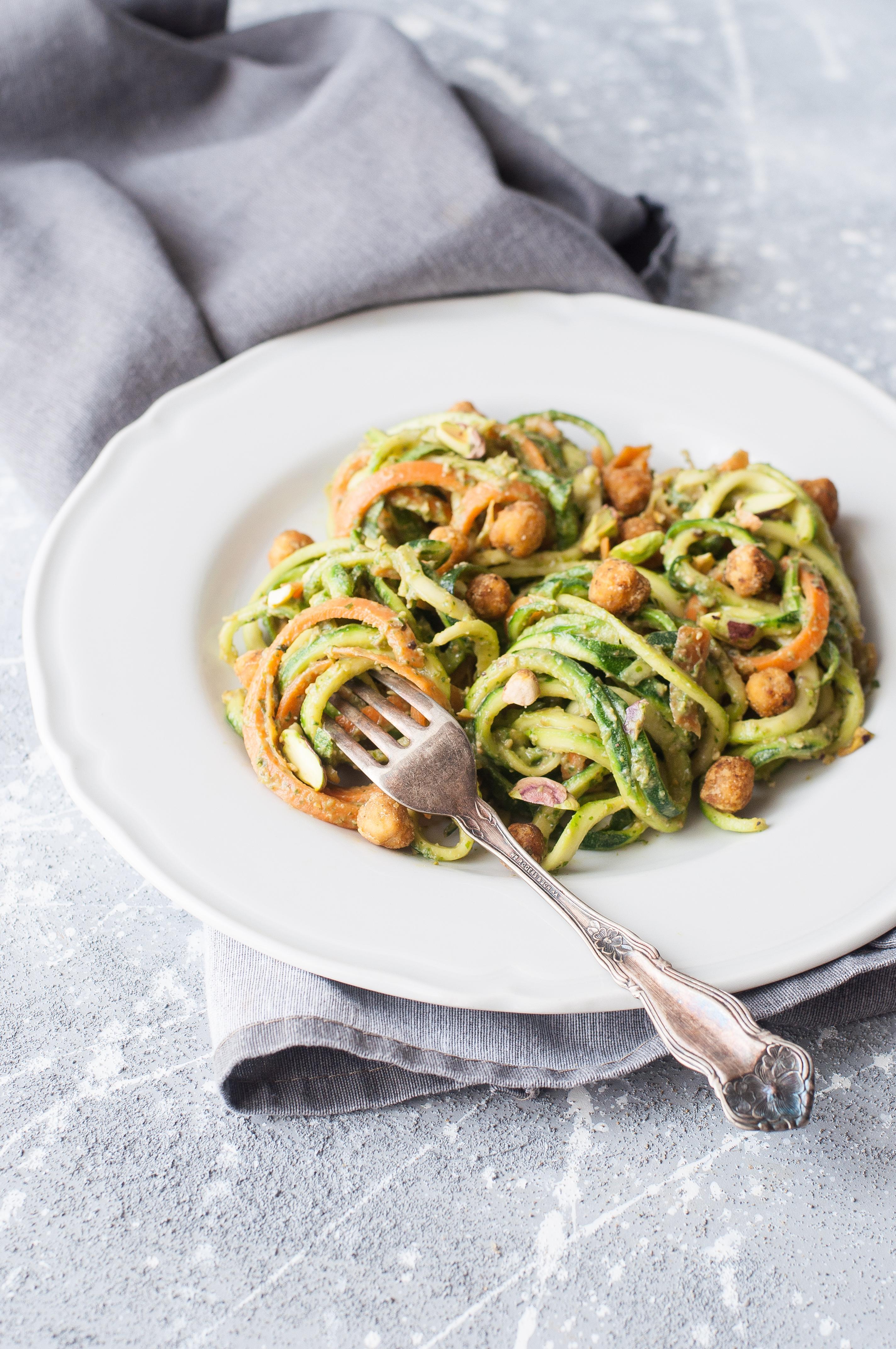Insalata di spaghetti di verdura