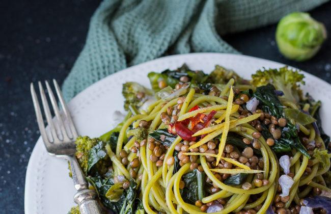 Spaghetti col cavolo (anzi 5!)