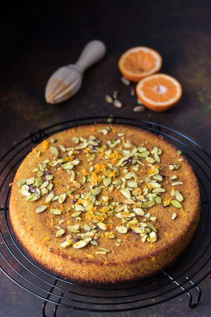 Torta ai mandarini senza glutine