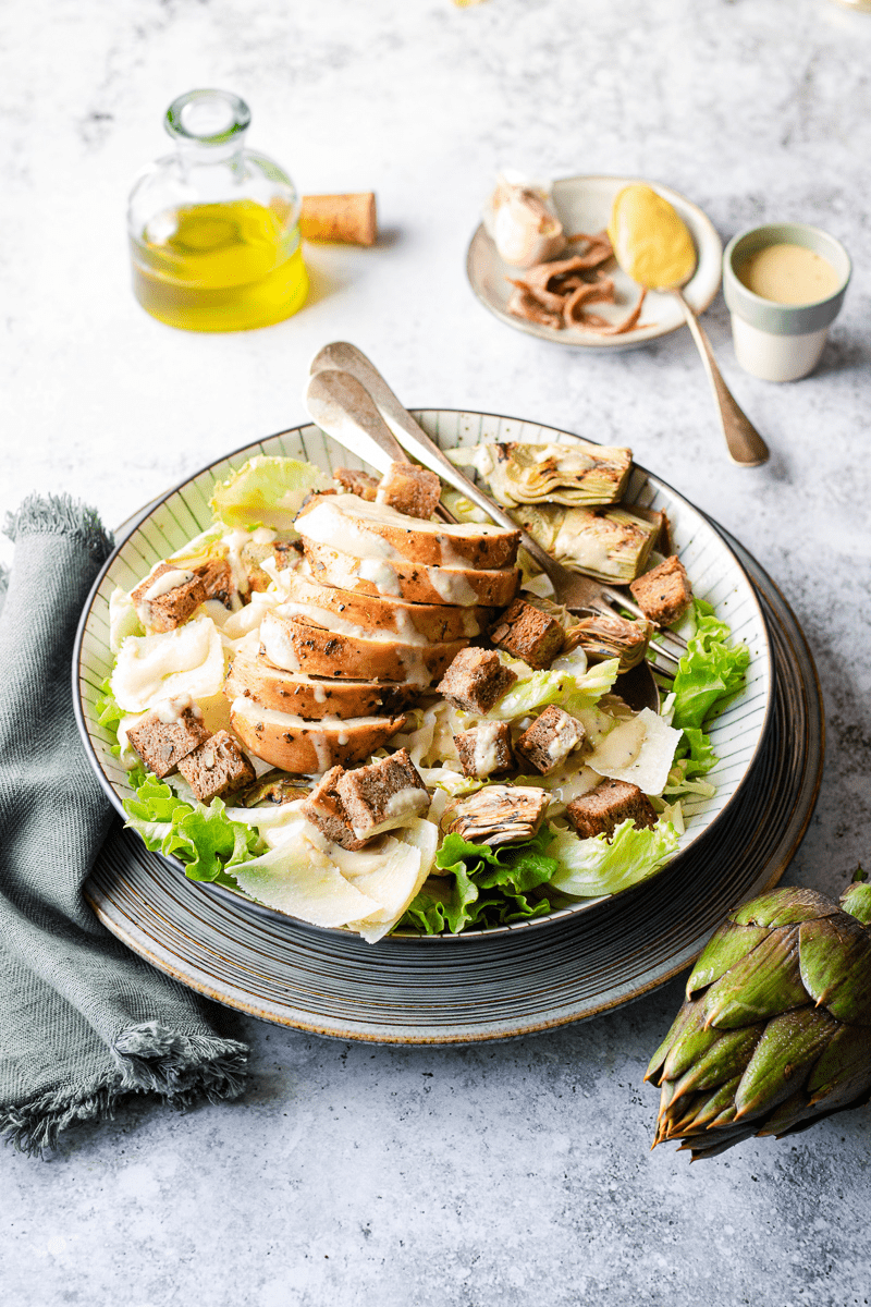 caesar salad light di pollo