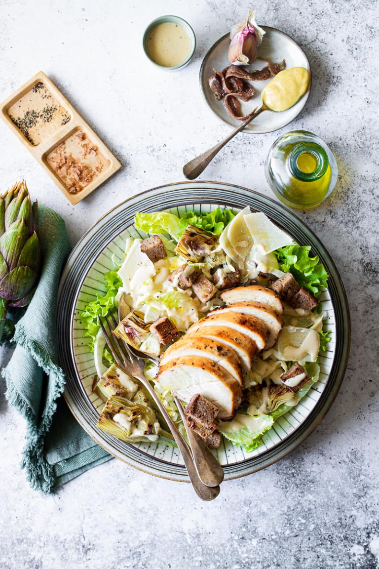 caesar salad di pollo light