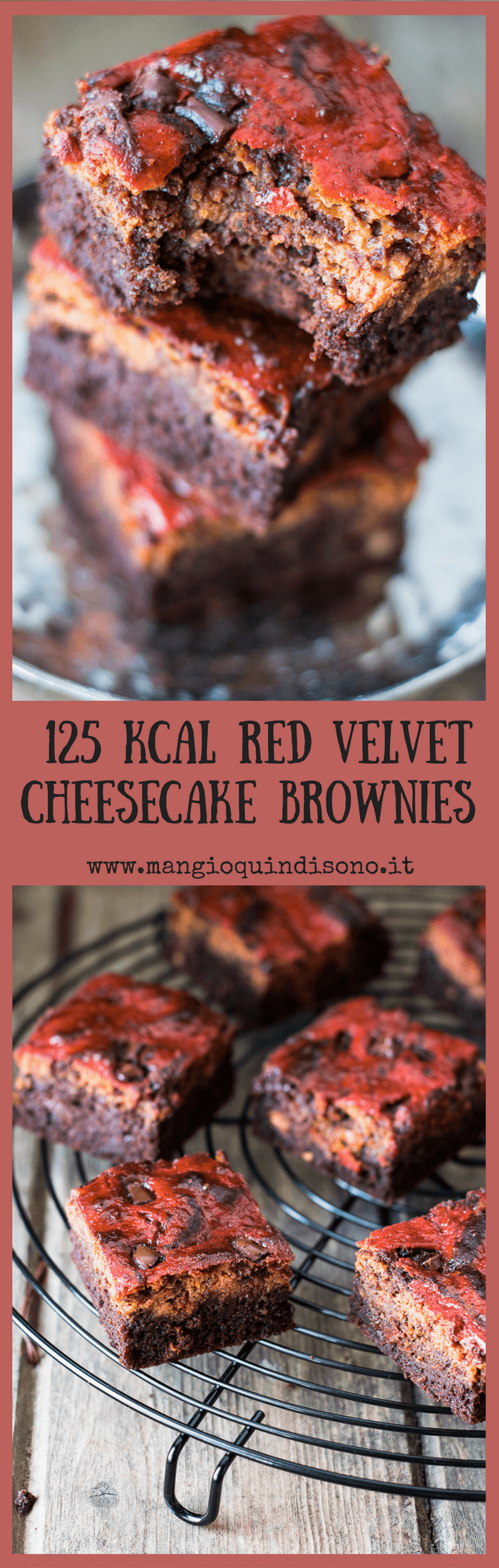 Pin: Red Velvet Brownies