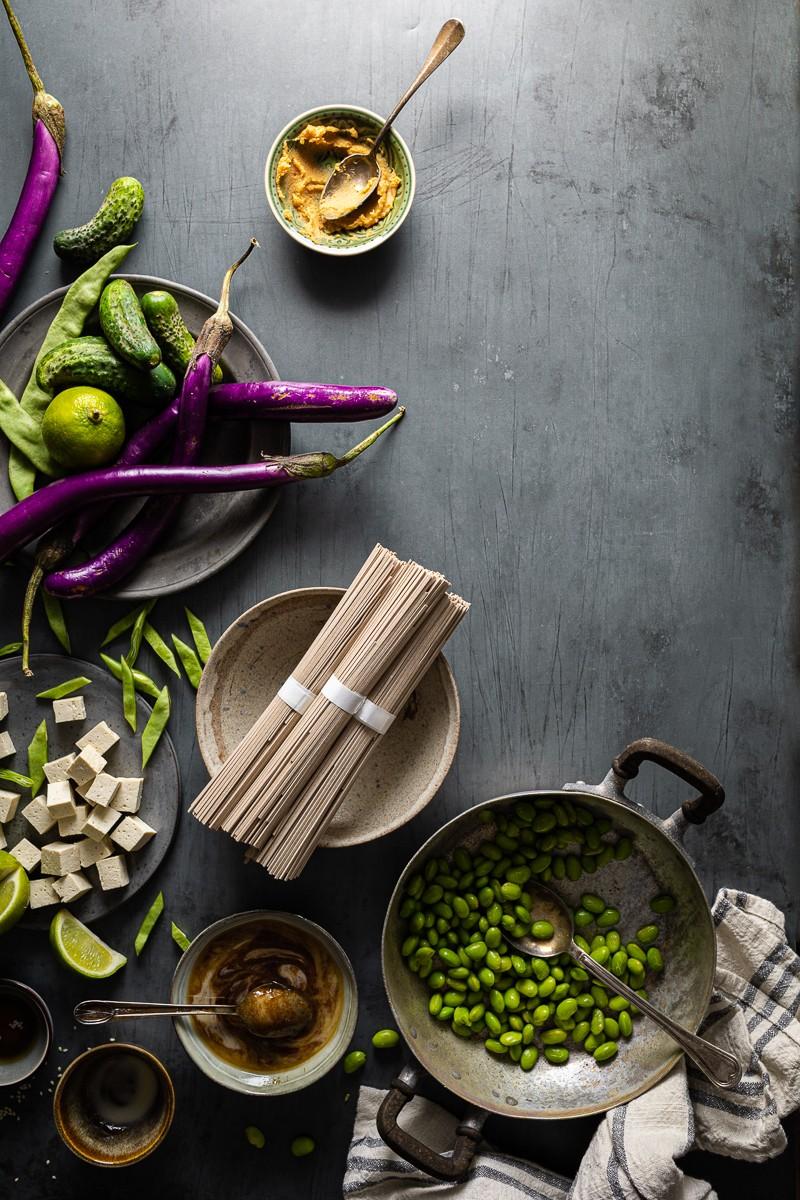 Ingredienti perinsalata-di-soba-e-tofu-croccante