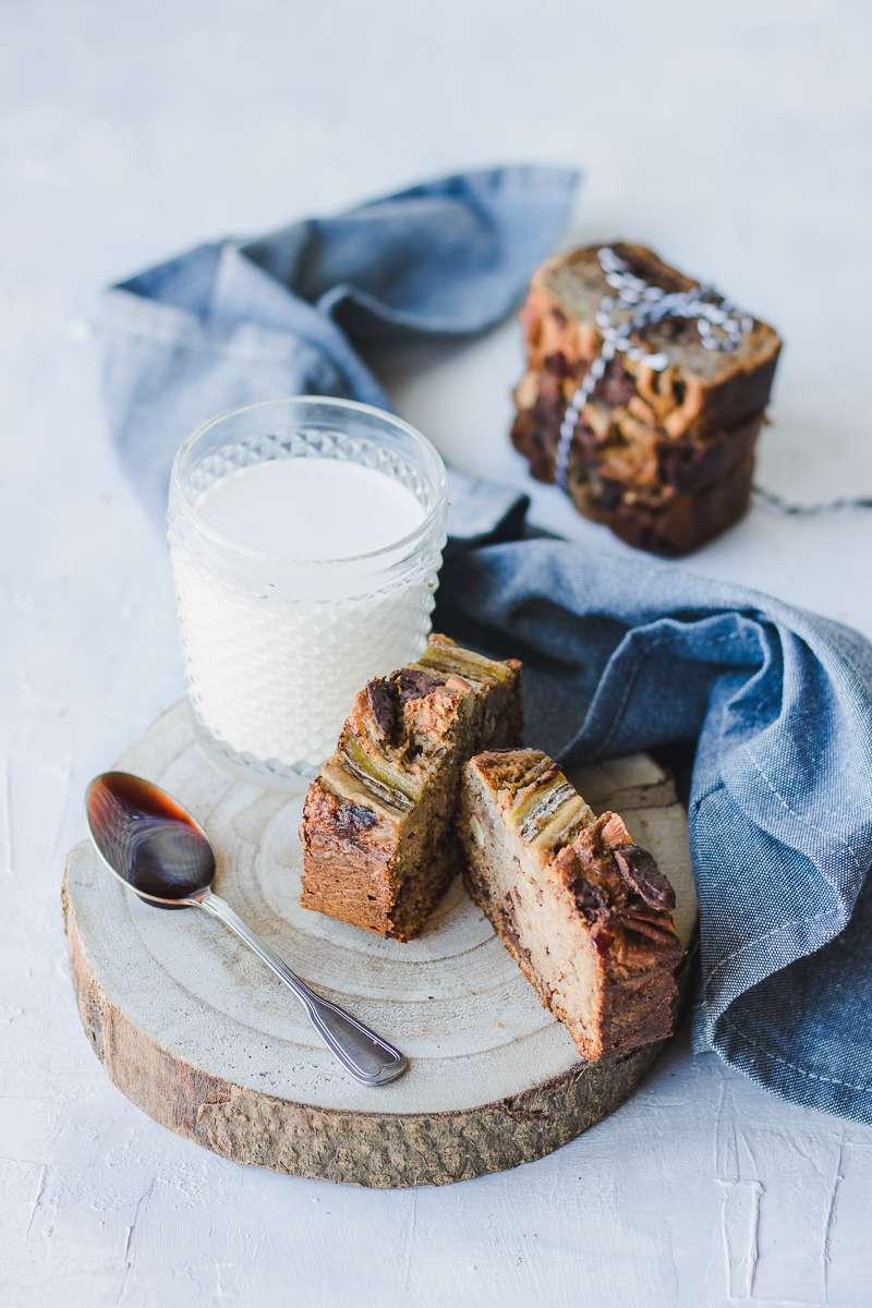 Banana bread senza zucchero (quasi) e senza olio (quasi)