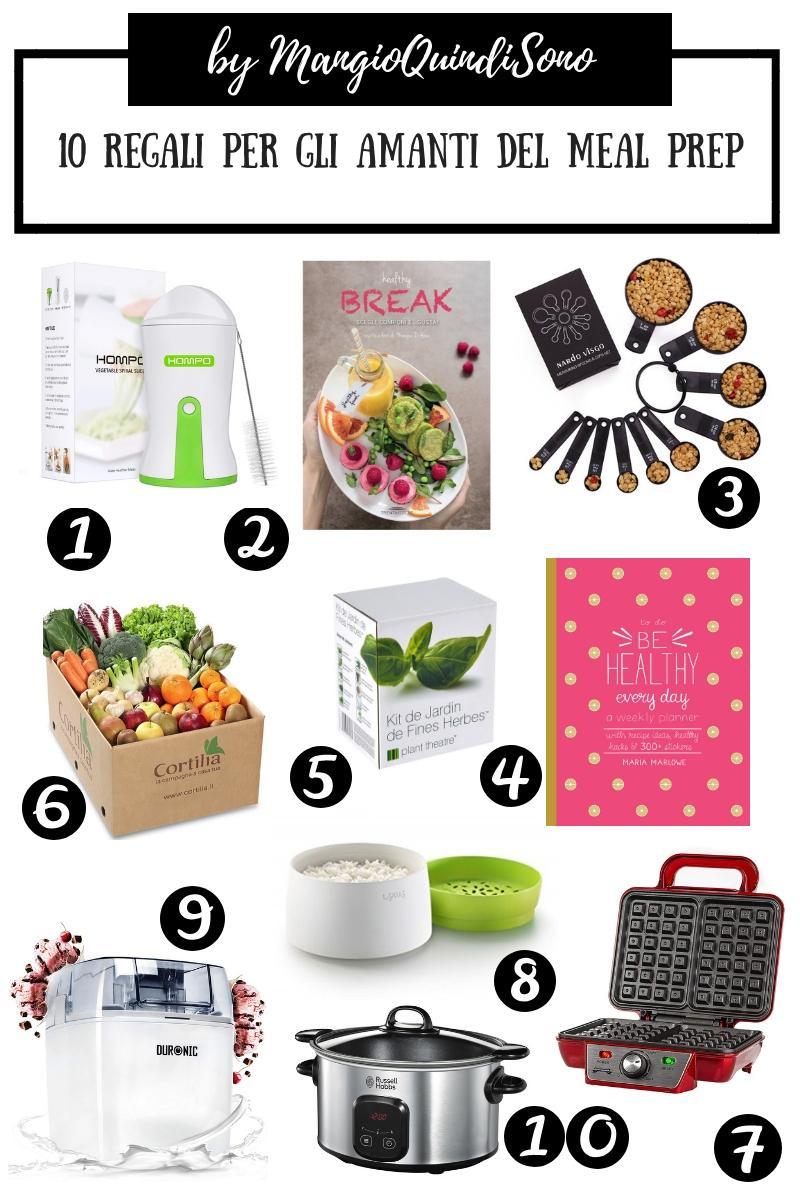 10 idee regalo per Natale per gli chi ama dare meal prep, in stile Mangio Quindi Sono