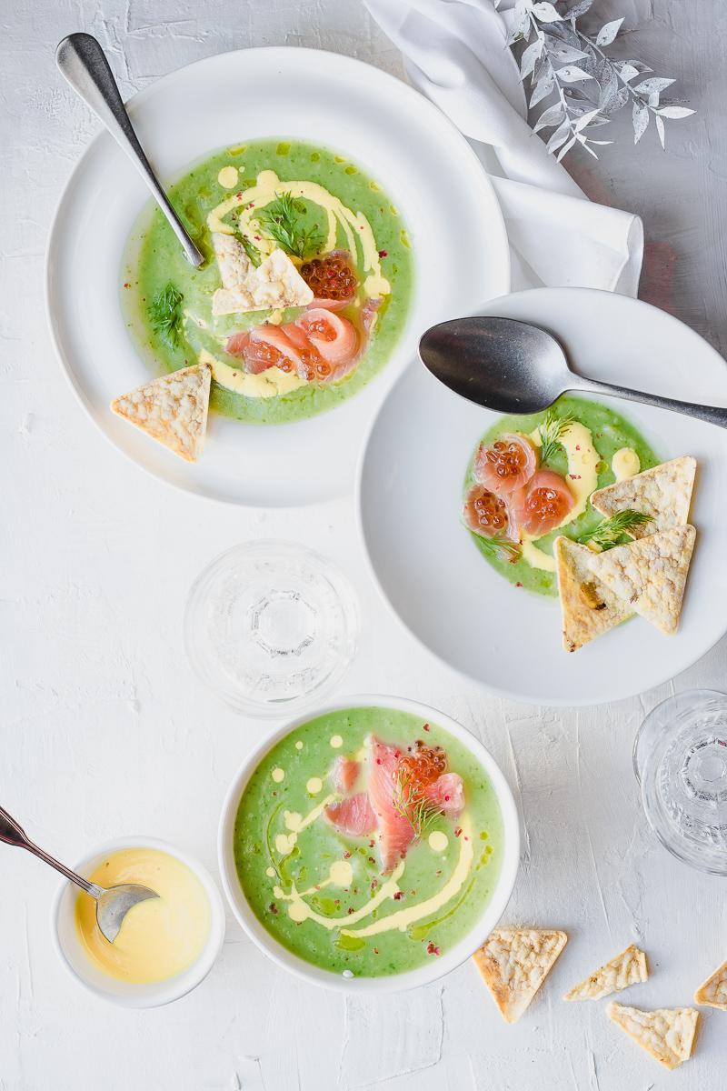 Crema di verdure invernali e salmone  | Natale by MQS