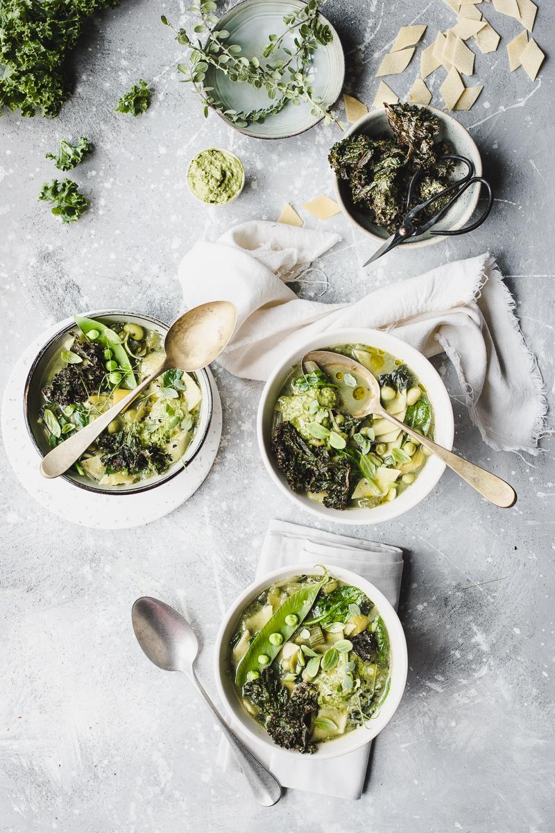 Minestrone verde di legumi (per chi odia il minestrone!)