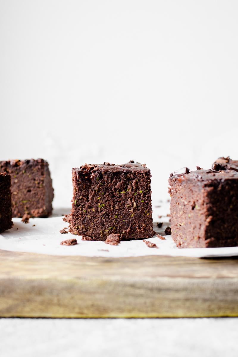 Brownies low carb proteici senza zucchero da 100 kcal l'uno