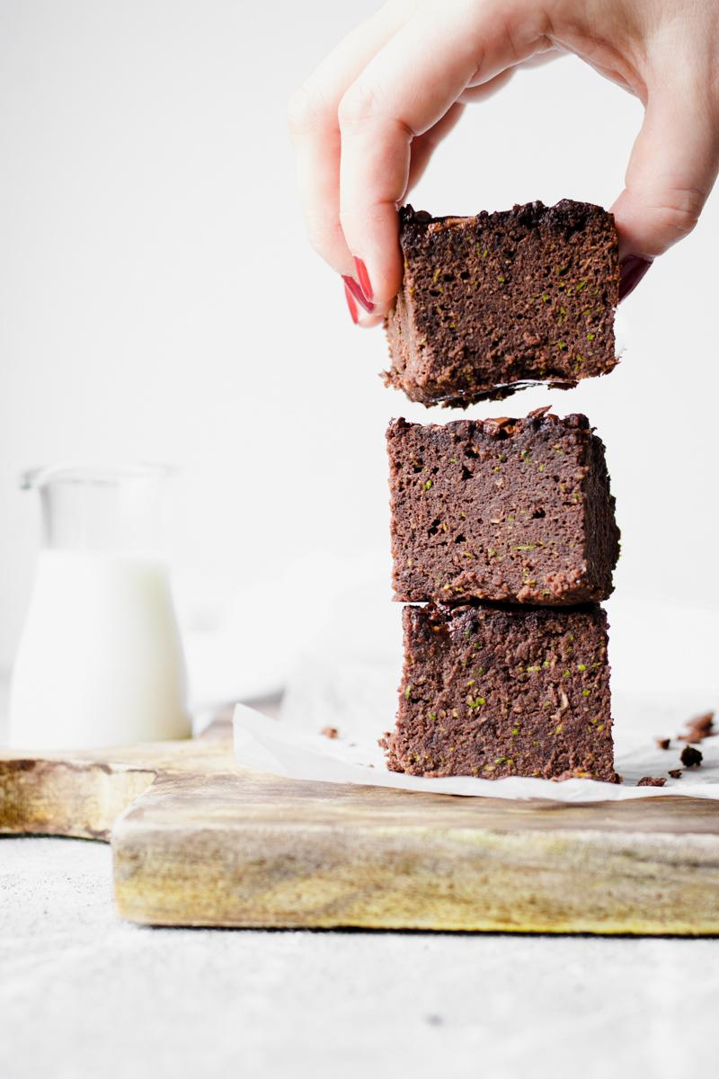 Low carb high protein sugar free 100 kcal brownies