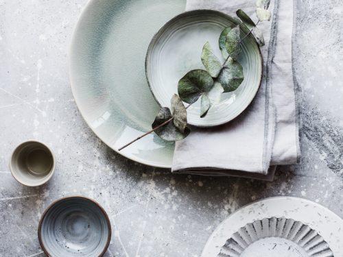 Come scegliere i props per food photography toni di grigio