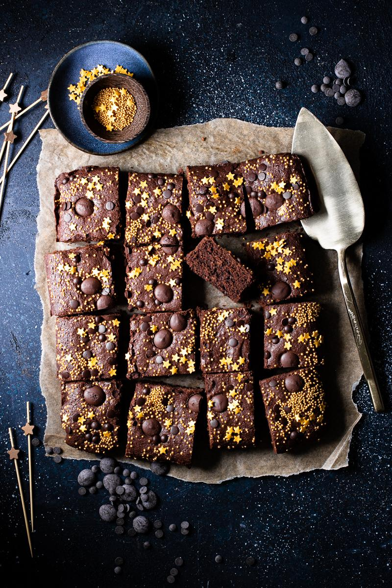 Brownie senza glutine e senza latticini