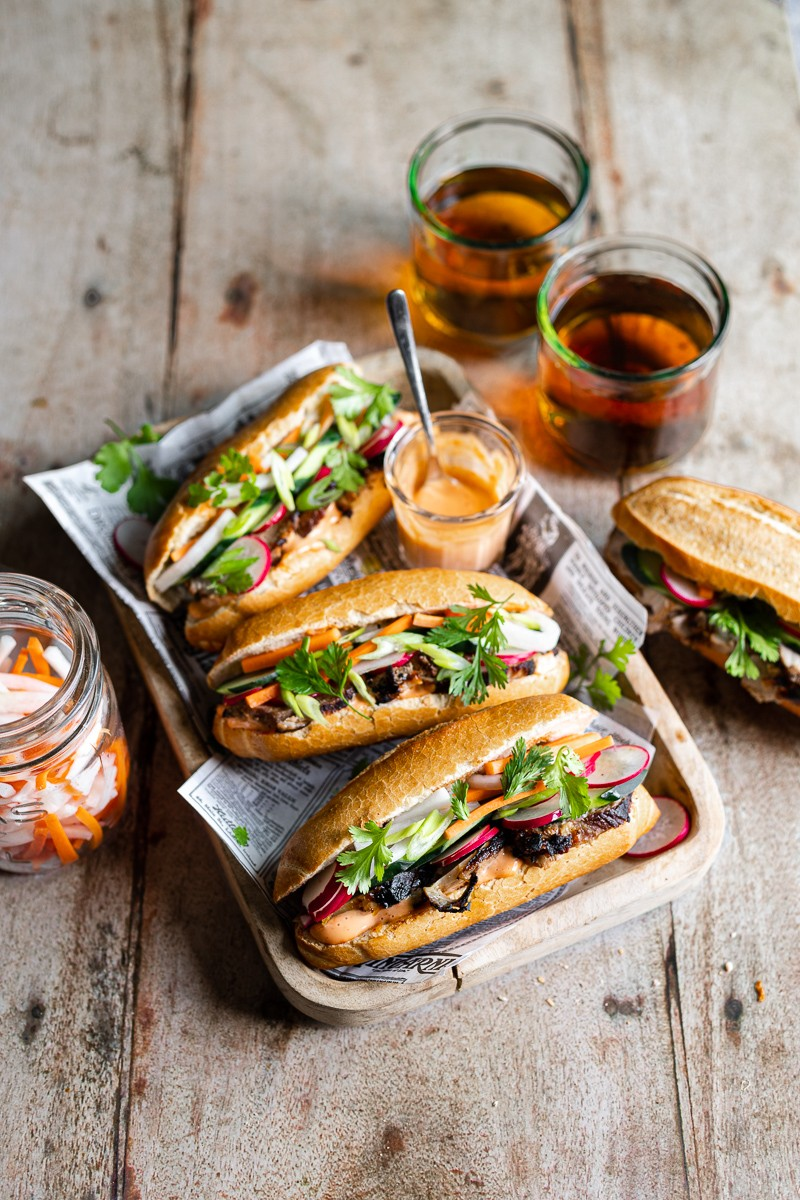 Banh mi panini vietnamiti