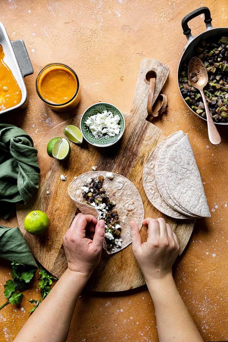 formazione enchiladas vegetariane