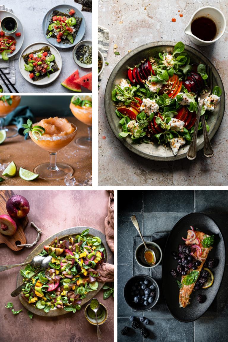 40 ricette con la frutta estiva