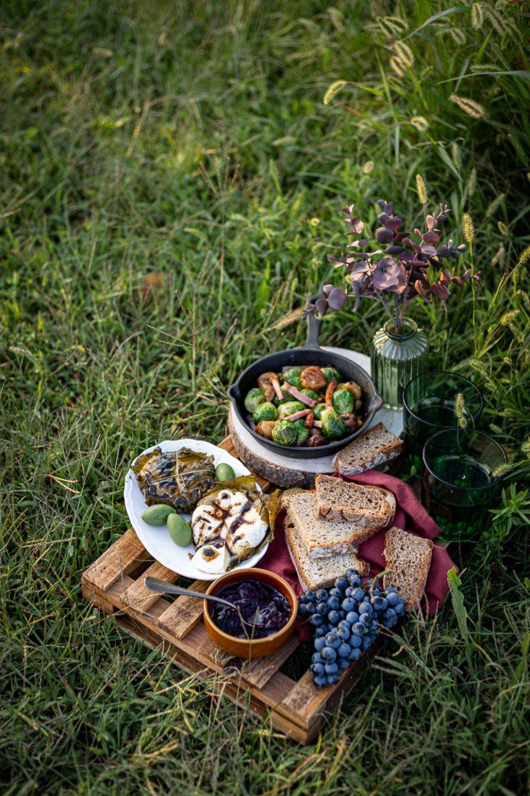 picnic autunnale - vivere in campagna